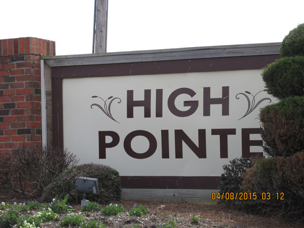 1306 HighPoint 3/3-Furnished AVAILABLE May 1, 2019